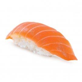 Нигири с лососем